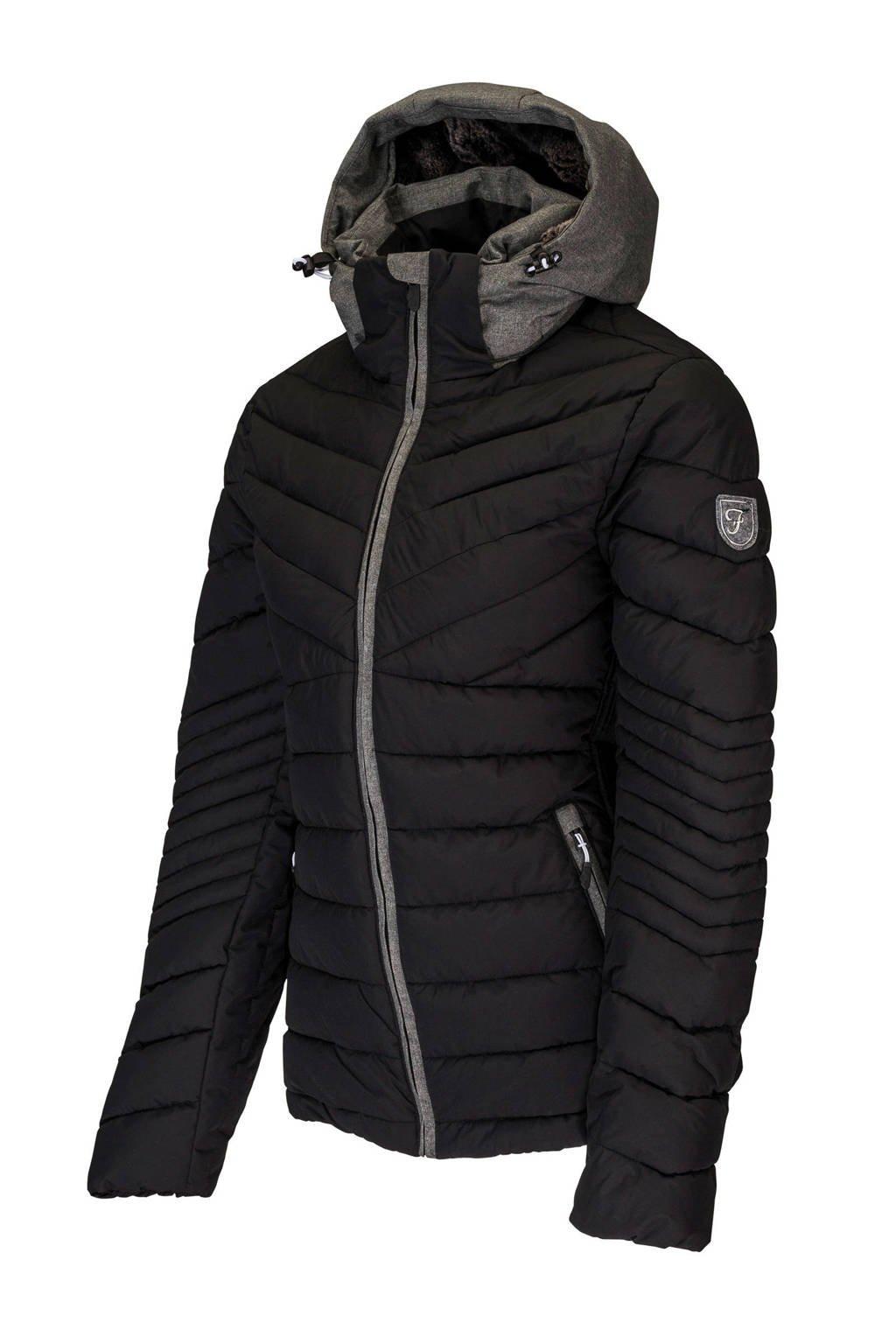 Falcon sofshell ski-jack Seleste zwart, Zwart