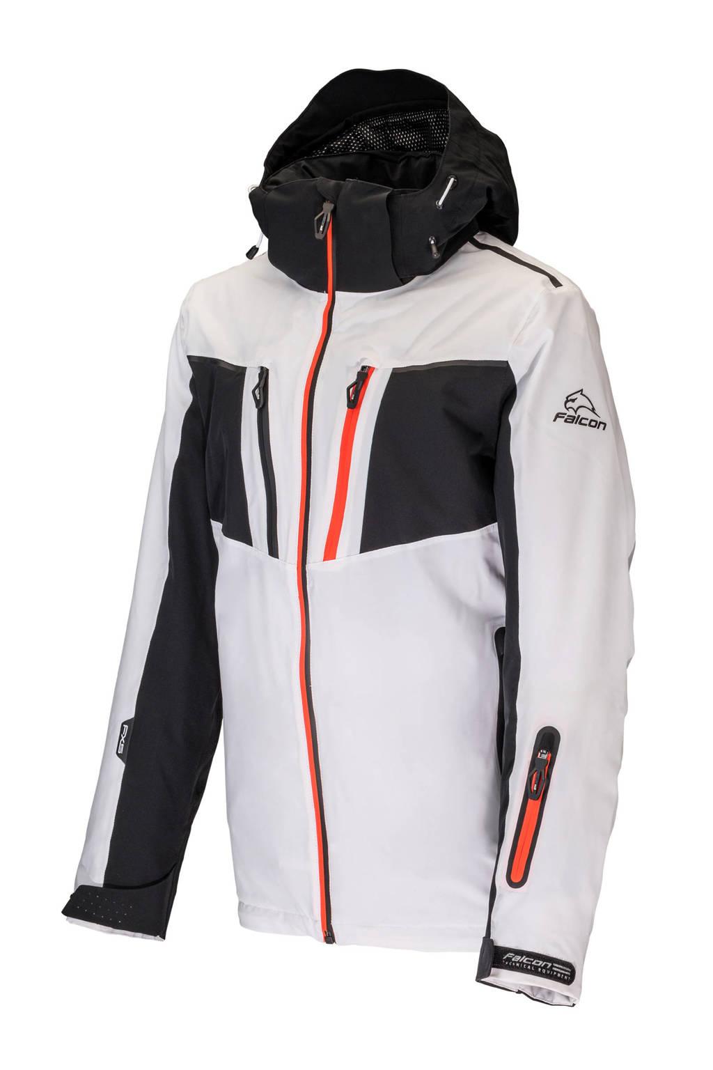 Falcon ski-jack Orion wit/zwart, Wit/zwart