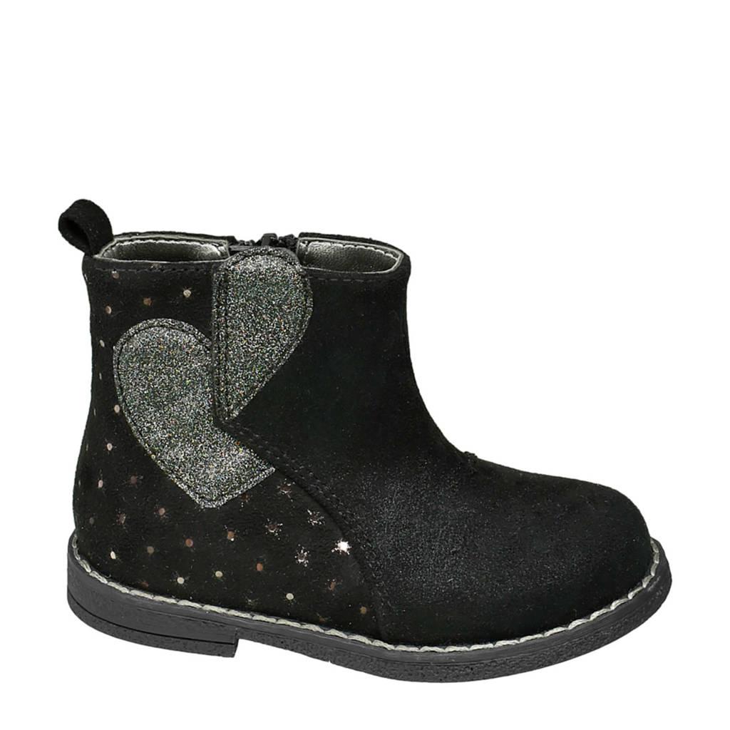 Cupcake Couture   enkelboots zwart, Zwart/zilver