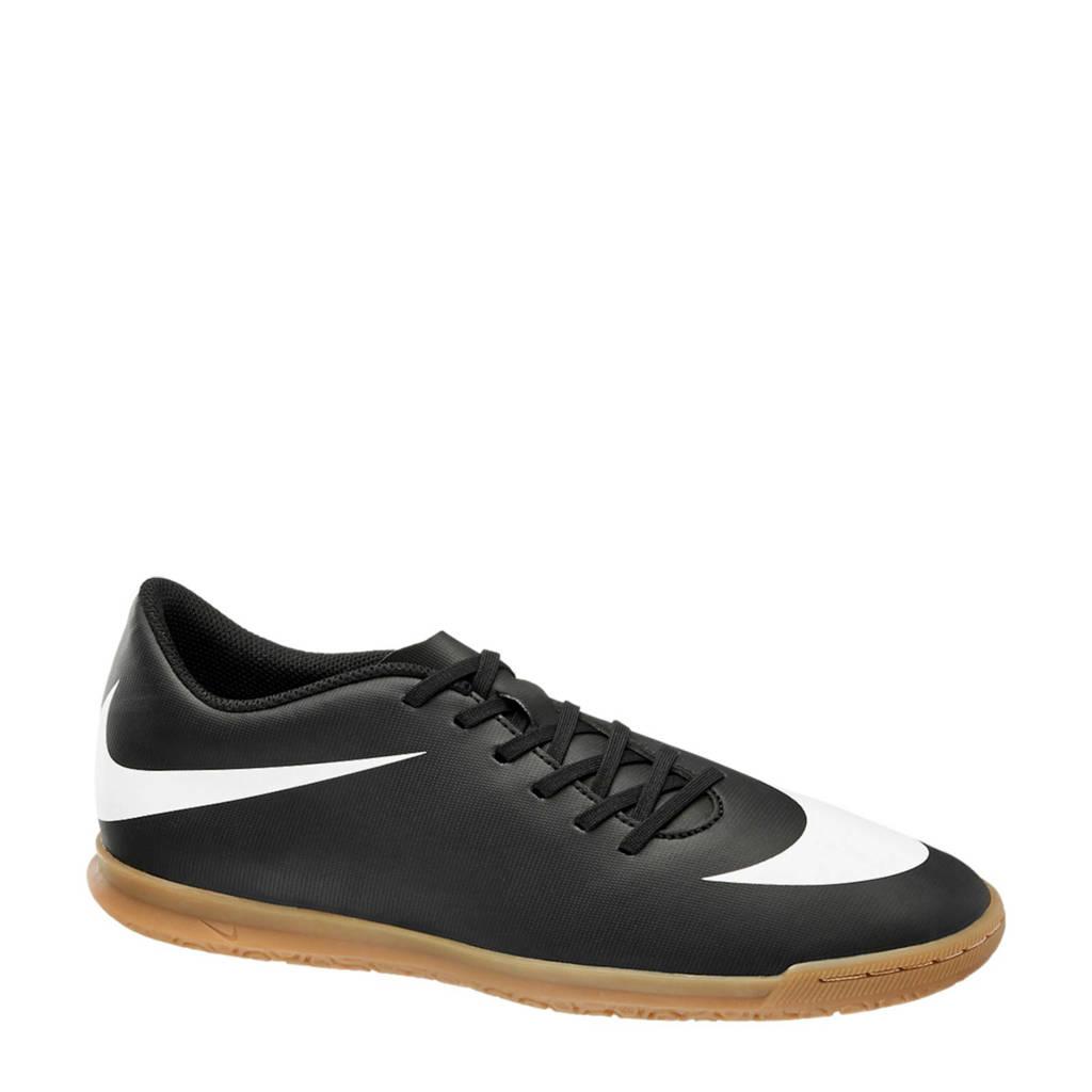 Nike Bravata  zaalvoetbalschoenen zwart/wit, Zwart/wit