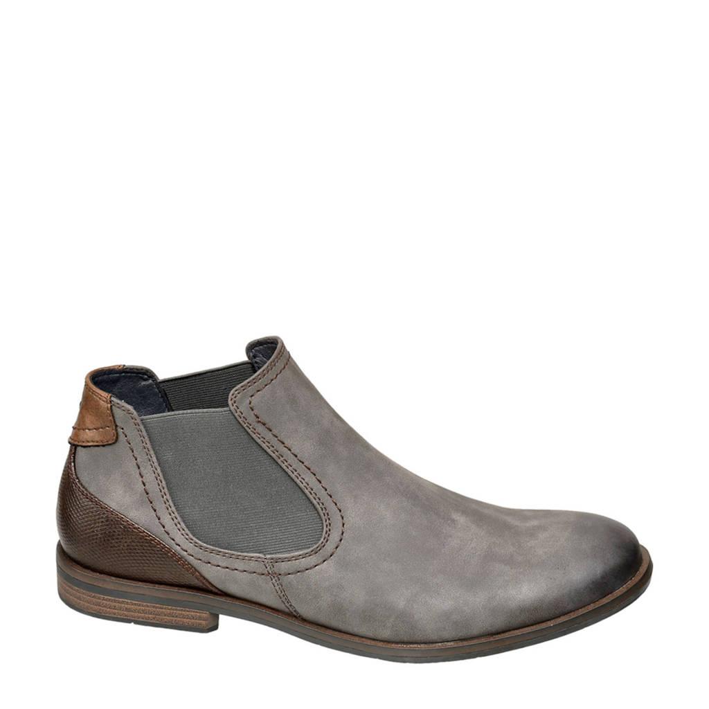 Venice   chelsea boots grijs, Grijs/bruin