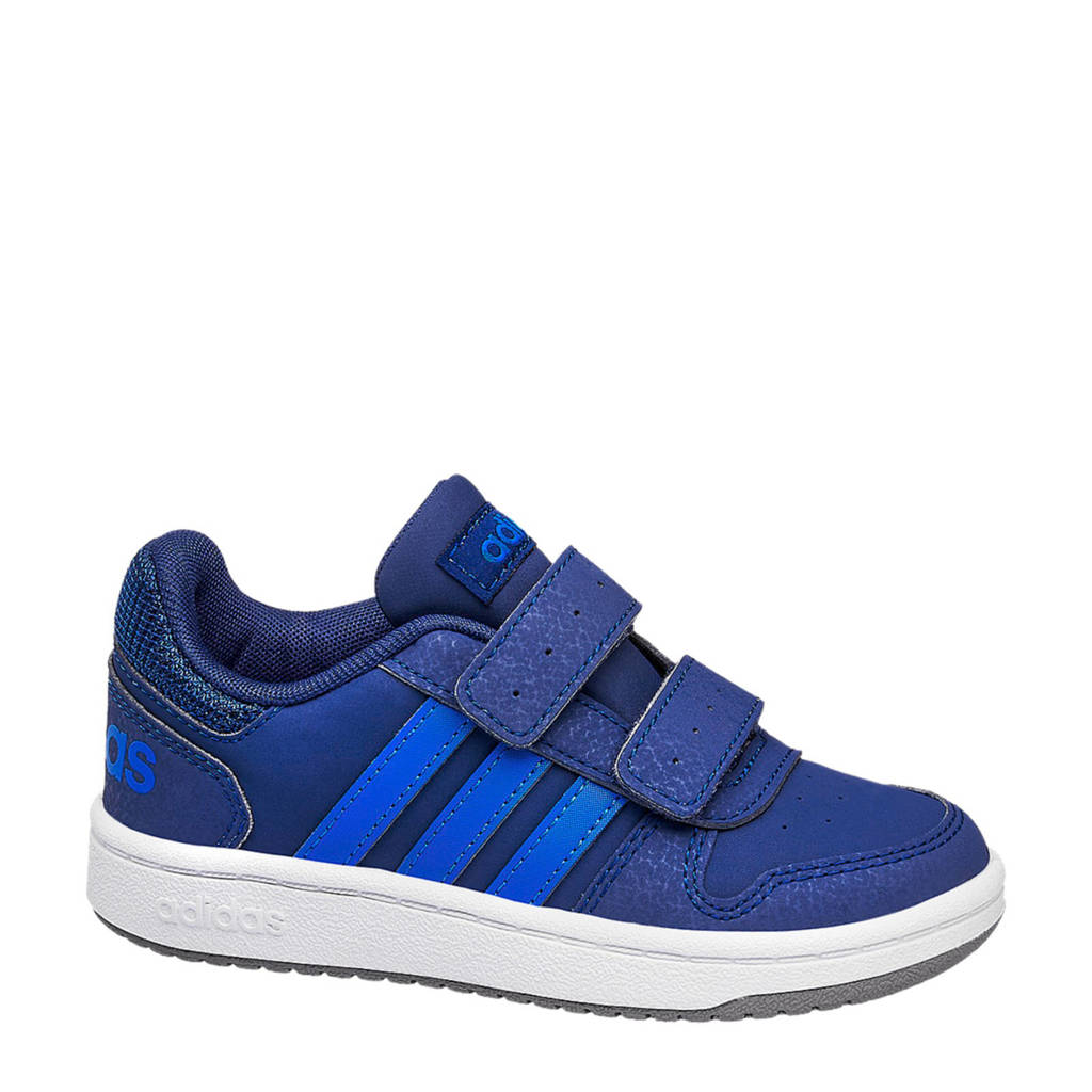 adidas   Hoops 2.0 CMF sneakers blauw/kobaltblauw, Blauw/kobaltblauw