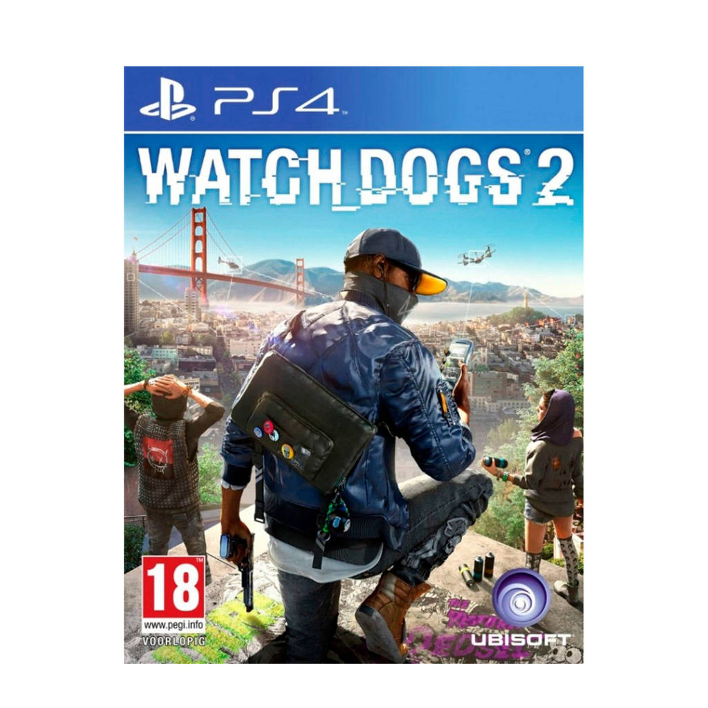 Watch Dogs 2 (PlayStation 4), -