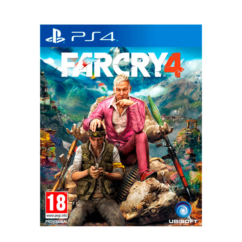 Far Cry 4 (PlayStation 4), N.v.t.