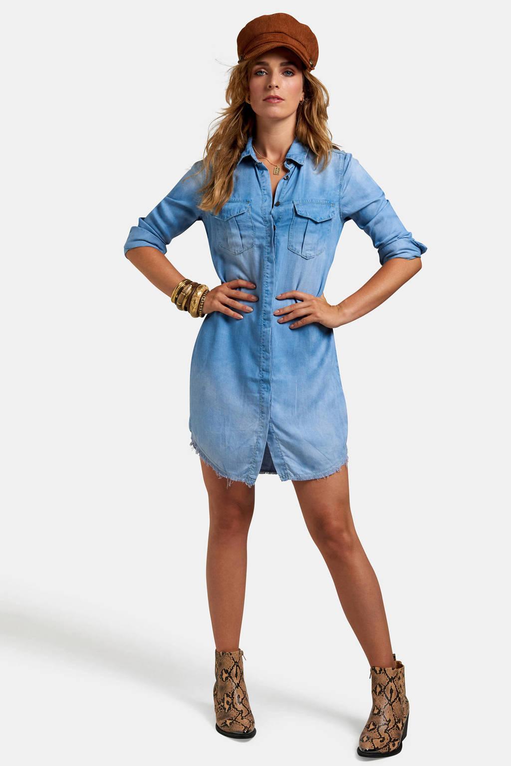 Eksept blouse Ray denim blue, Denim blue