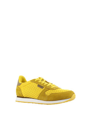 Ydun  suède sneakers geel