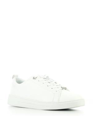 Tedah leren sneakers wit