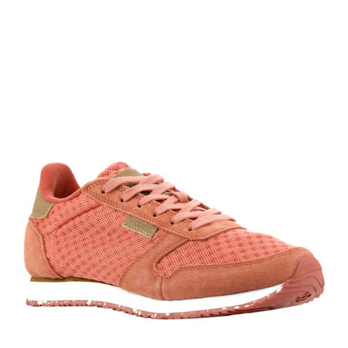 Woden Ydun su??de sneakers roze