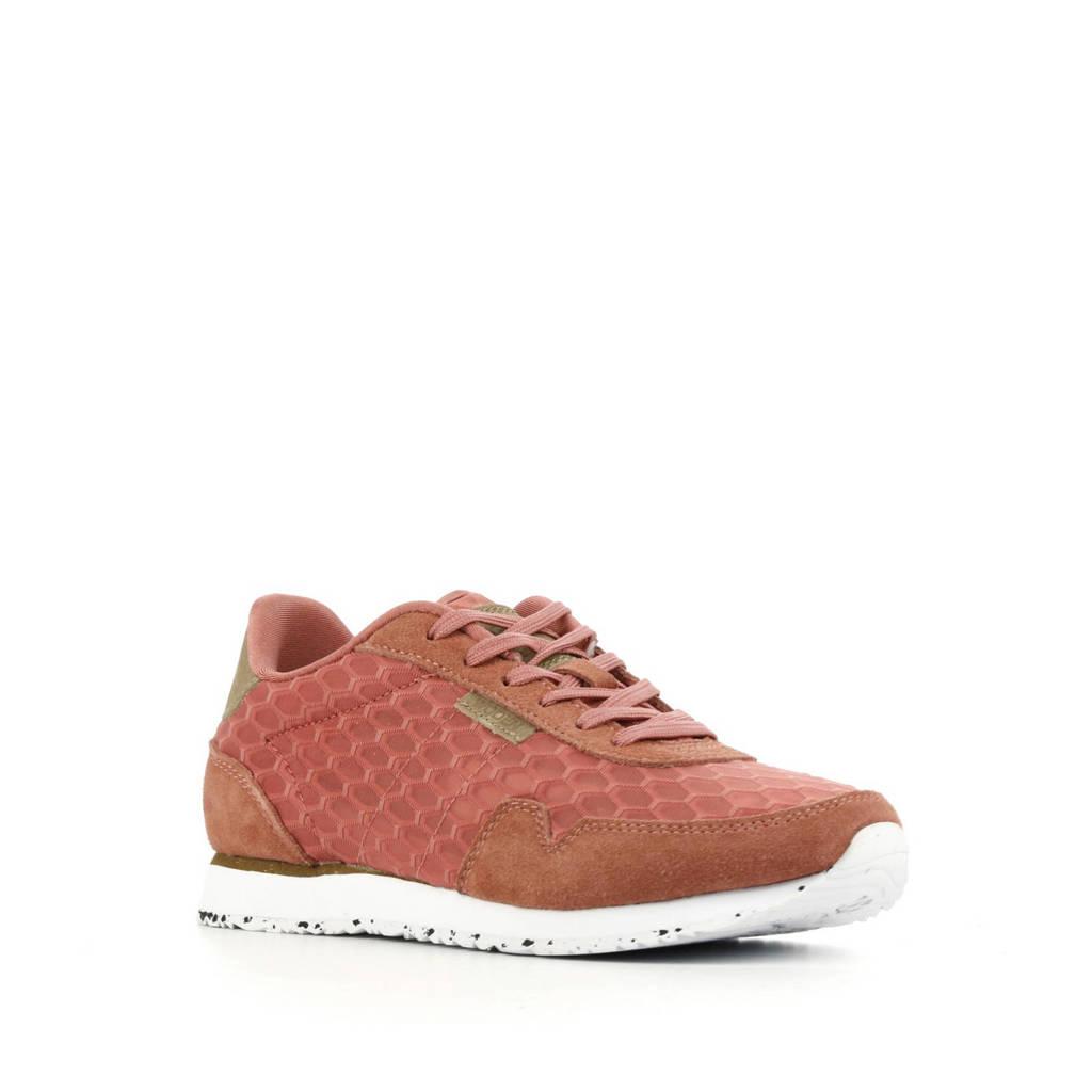 Woden Nora II Plateau  sneakers oudroze, Oudroze