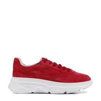 CPH 40 Crosta suède sneakers rood