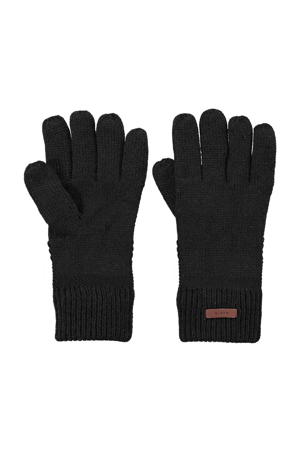 Barts handschoenen zwart, Zwart