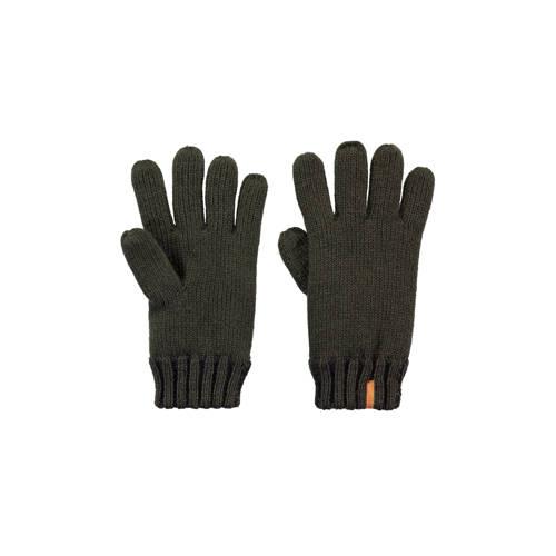 Barts handschoenen donkergroen