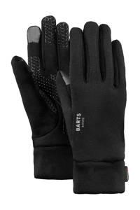 Barts handschoenen Powerstretch touch zwart, Zwart