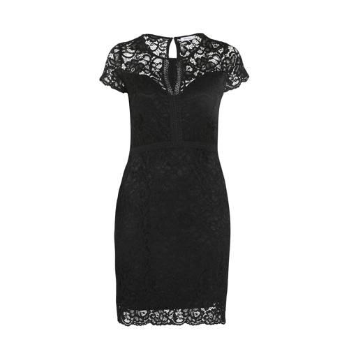 Paprika kanten jurk zwart