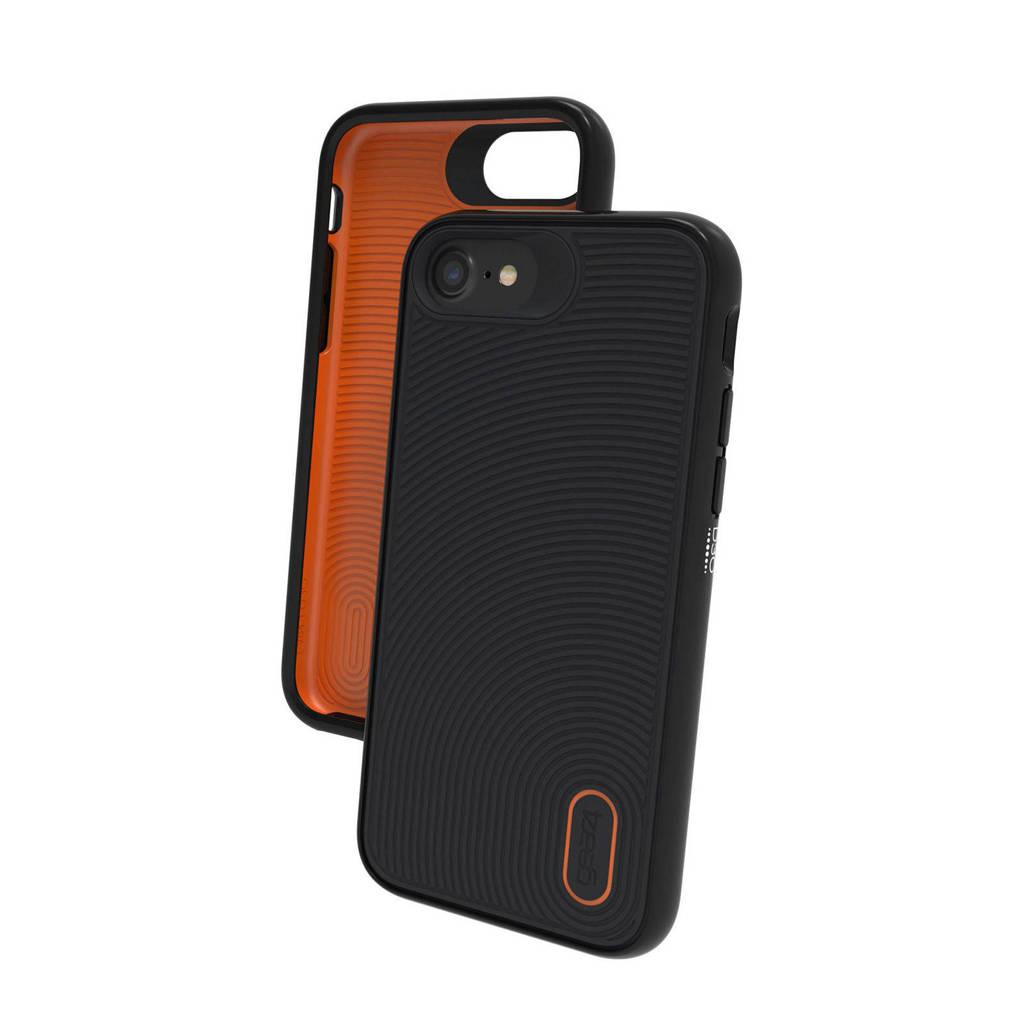 Gear4 Battersea backcover voor iPhone 6/6S/7/8, Zwart, Oranje