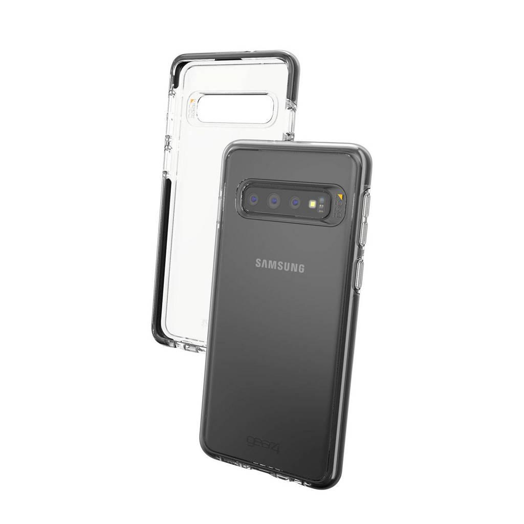 Gear4 telefoonhoes Piccadilly Samsung Galaxy S10 (Zwart), Zwart, transparant