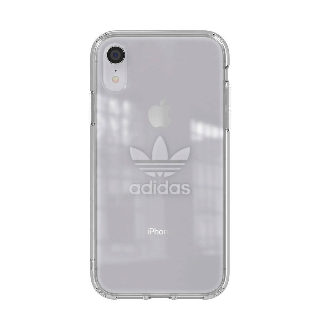 adidas iPhone XR hoesje, Transparant