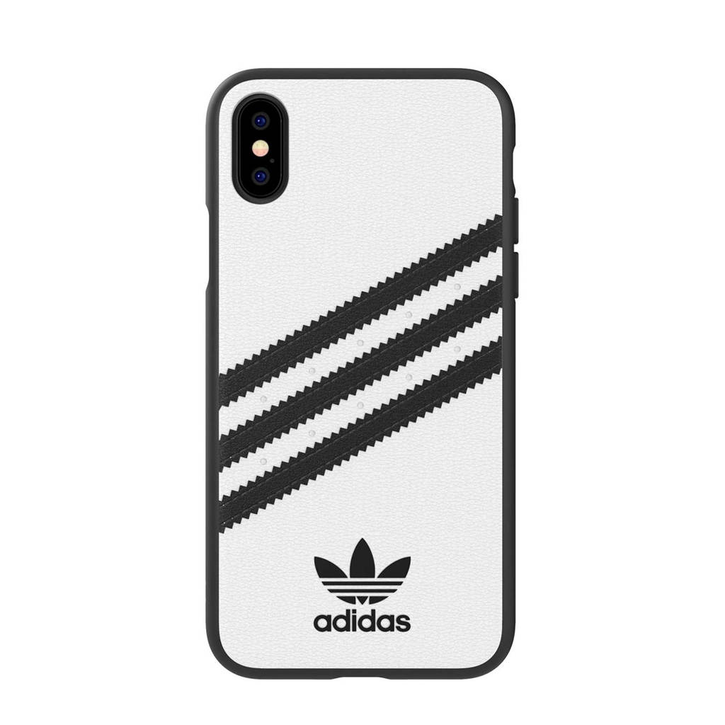 adidas OR Snap Case backcover voor iPhone X/XS (wit), Wit