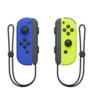 Joy-Con controllers blauw/geel
