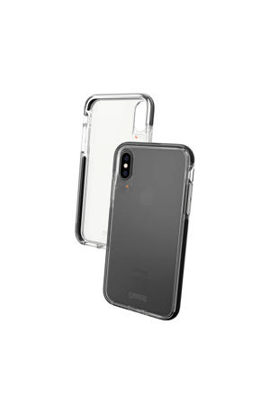 Piccadilly backcover voor iPhone X/XS (Zwart)
