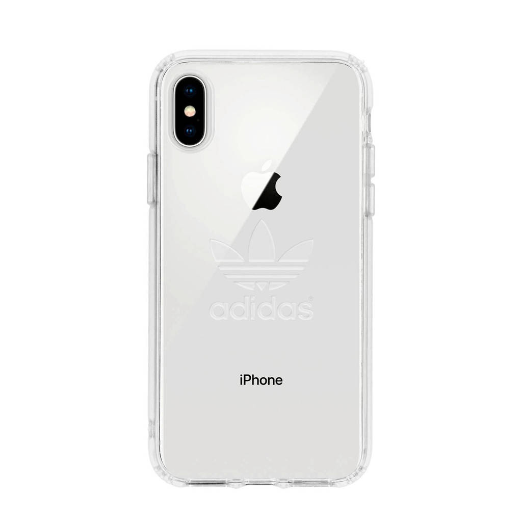 adidas OR Snap Case backcover voor iPhone X/XS (transparant), Transparant