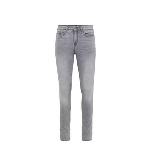 WE Fashion Blue Ridge super skinny jeans grijs