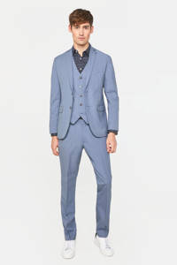 WE Fashion slim fit colbert icy, Icy