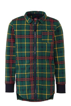 geruit overhemd Baas groen