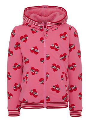 borgvest Yolanthe met hartjes roze