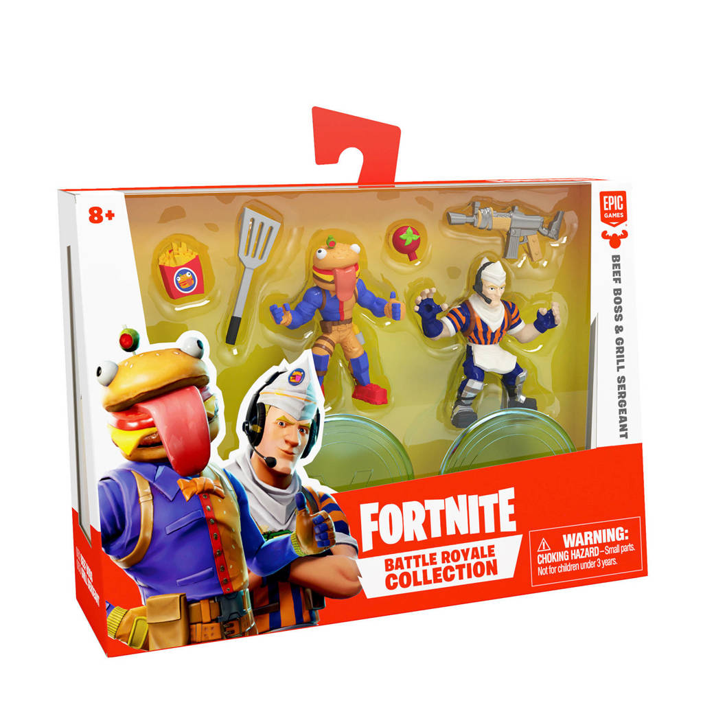 Fortnite Duo Pack Beef Boss & Grill Sergeant
