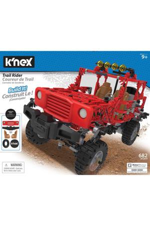 Building Sets gemotoriseerde Rode Jeep