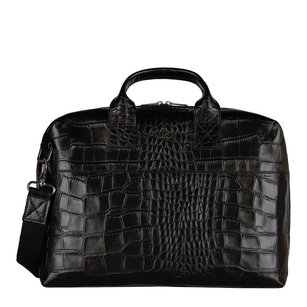 MYOMY MY PHILIP BAG  leren handtas zwart, Zwart