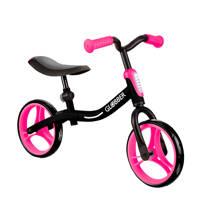 Globber Go Bike roze, Zwart/roze