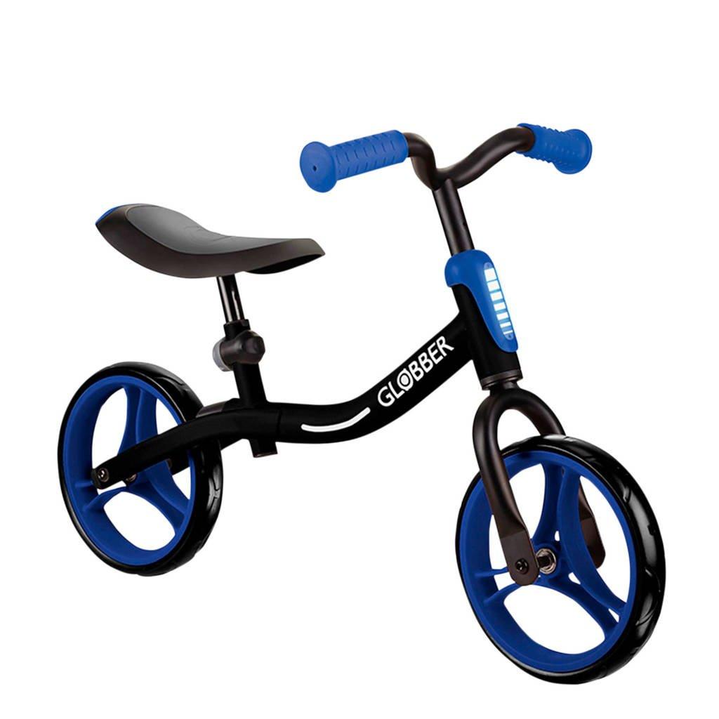 Globber Go Bike blauw, Zwart/blauw