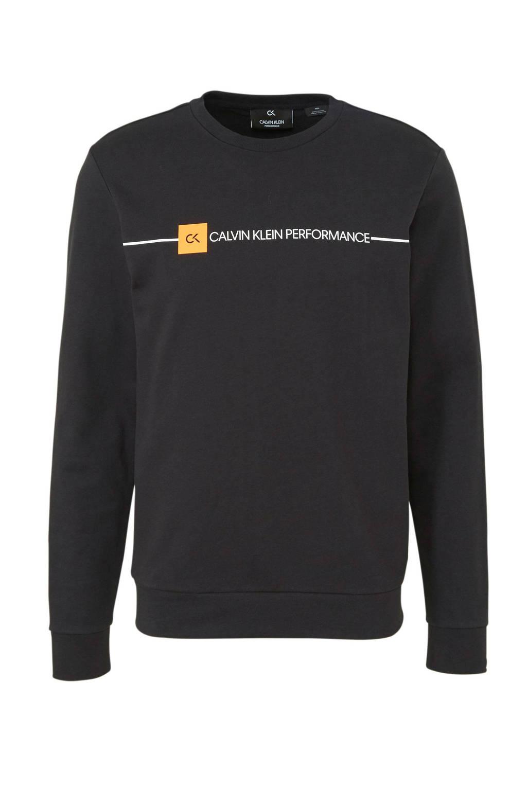 Calvin Klein Performance   sportsweater zwart, Zwart