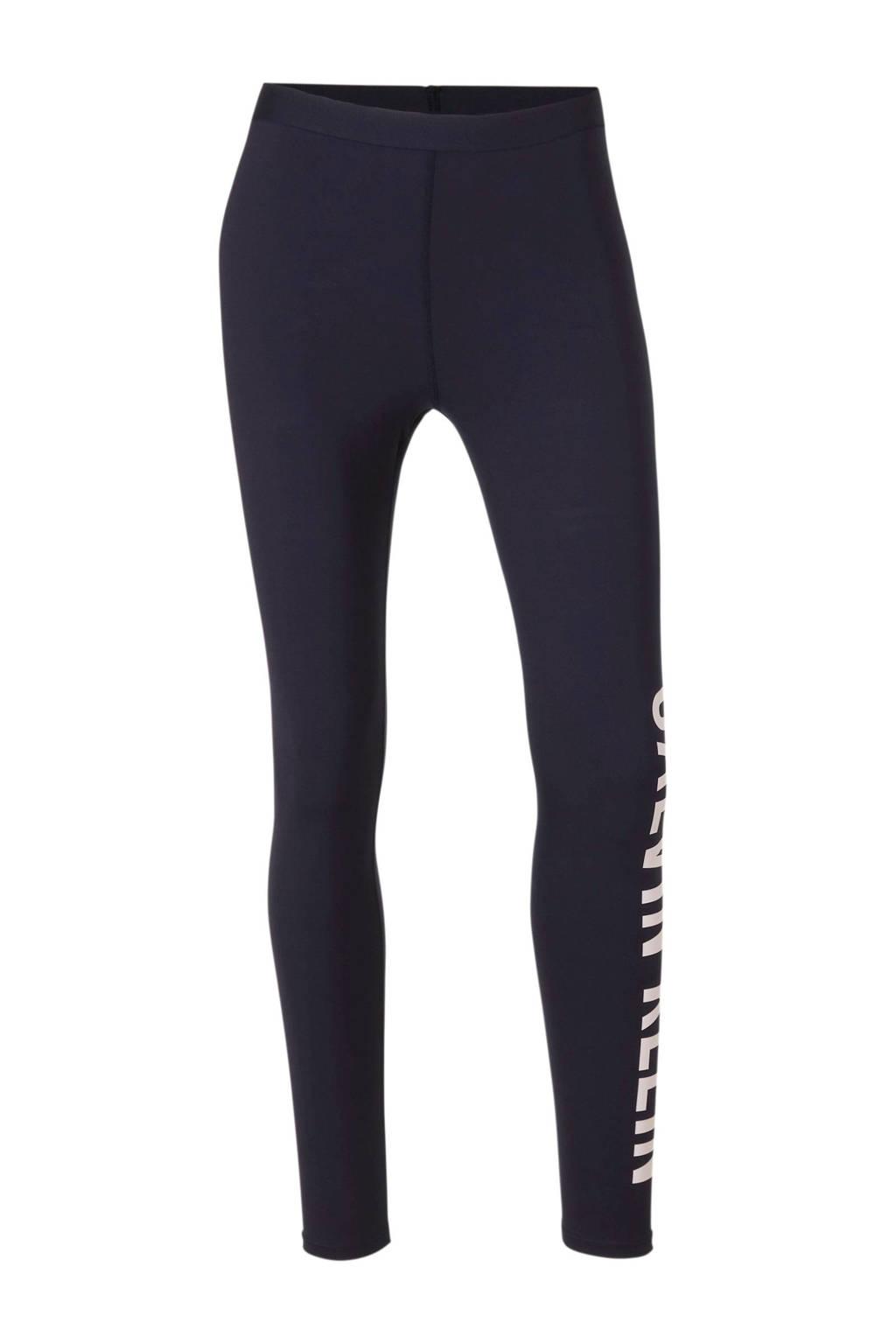 Calvin Klein Performance sportlegging donkerblauw, Donkerblauw/roze