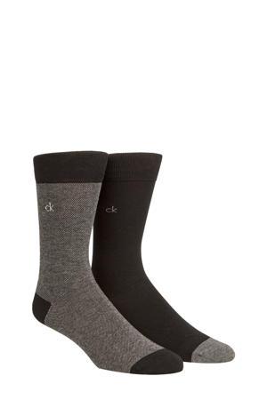 sokken zwart (2 paar)