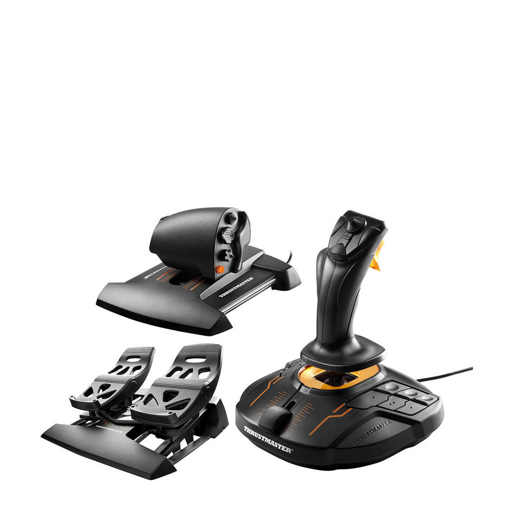 Thrustmaster T.16000M FCS Flight Pack, Zwart