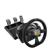 Thrustmaster T300 Ferrari Alcantara Edition Integral racestuur (PS4/PS3/Windows), Zwart