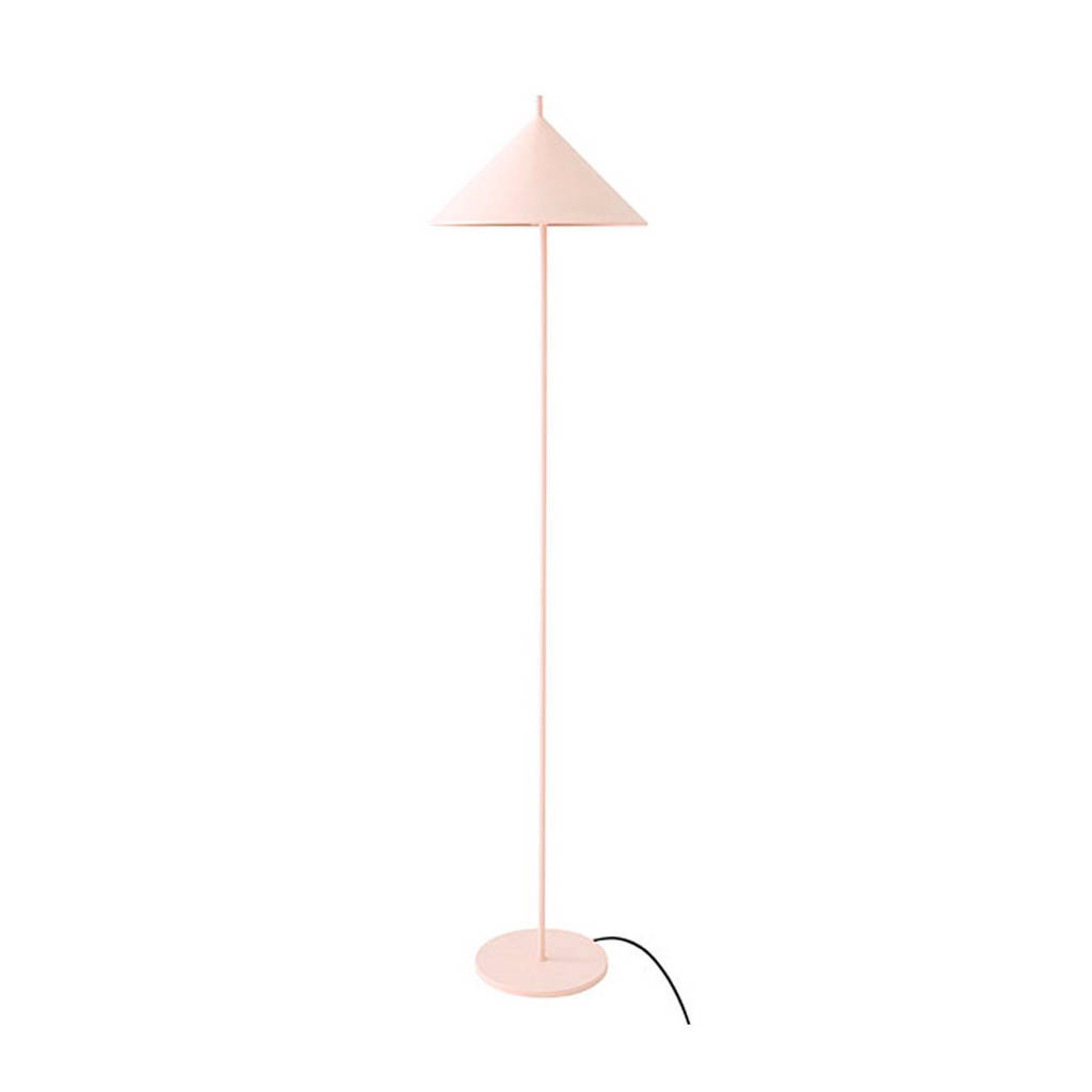 HKliving vloerlamp Triangle, Lichtroze