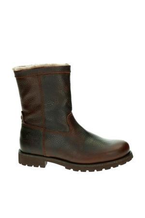 leren boots donkerbruin