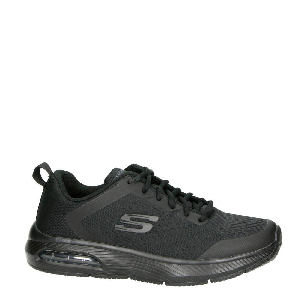 Skechers   Skech-Air sneakers zwart, Zwart