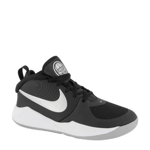 Nike Team Hustle D9 sneakers zwart-wit