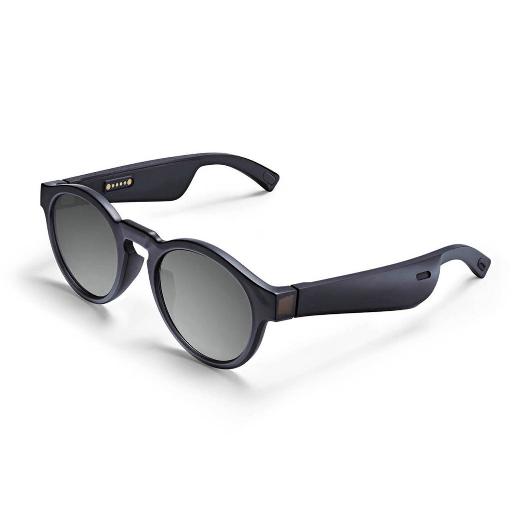 Bose FRAMES RONDO Audio zonnebril, Zwart