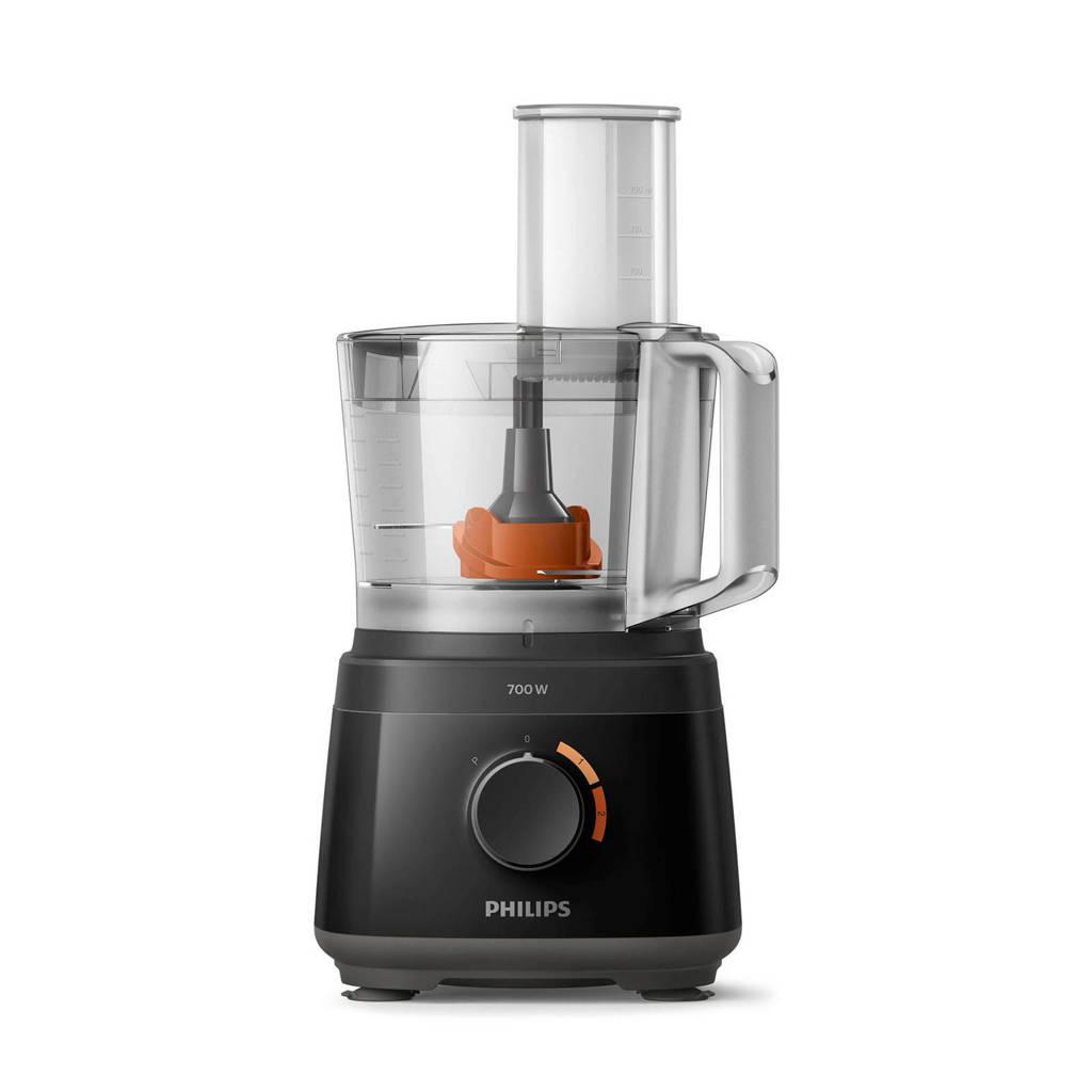 Philips HR7310/10 keukenmachine, Zwart