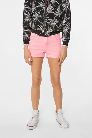 regular fit short roze