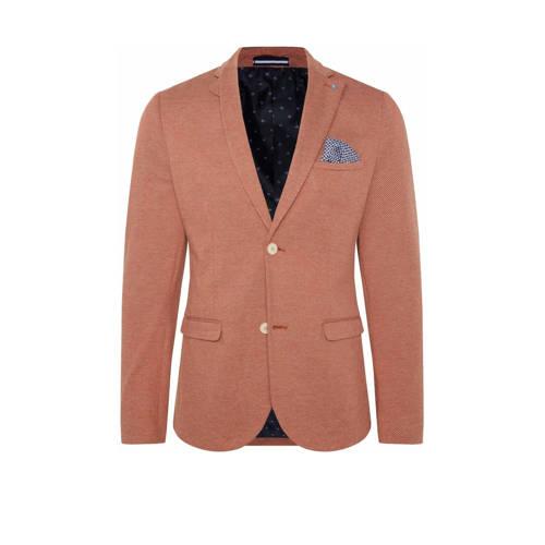 WE Fashion slim fit colbert rood