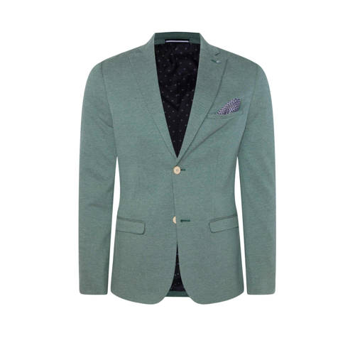 WE Fashion slim fit colbert groen