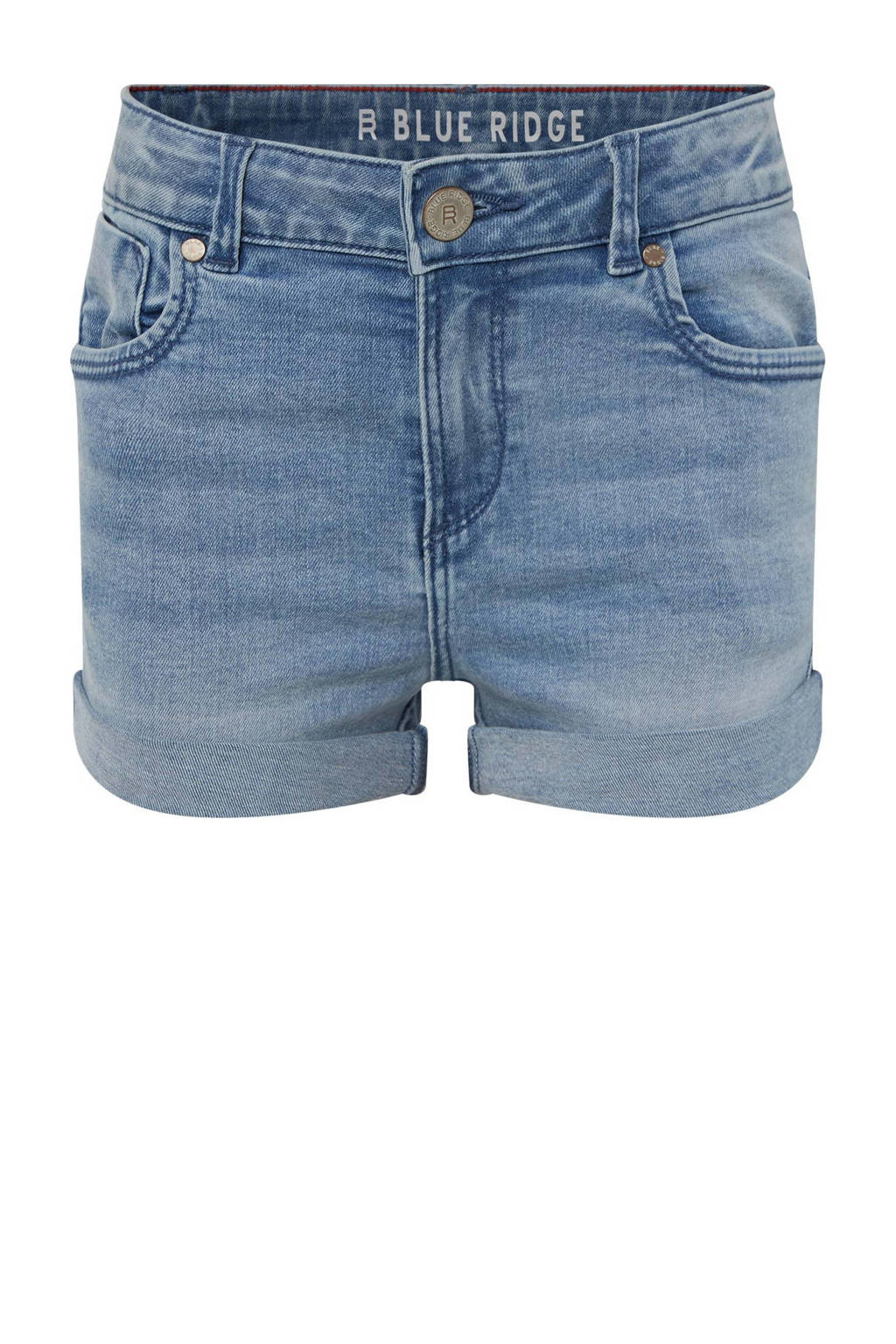 WE Fashion Blue Ridge jeans short light denim, Light denim