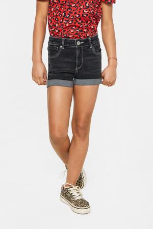 jeans short dark denim